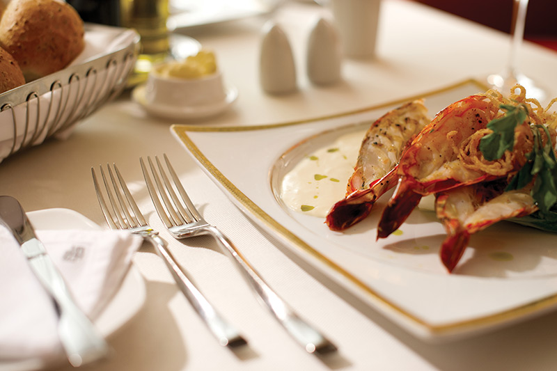 Gourmet Excellence at Sea