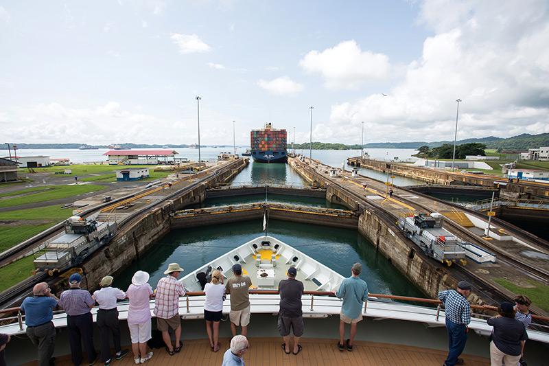 Silversea - Panama Canal