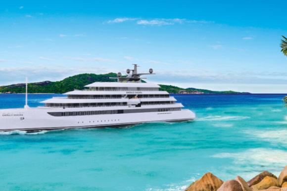 """Emerald's New Luxury Yacht """"Sakara"""" to start maiden voyages in Seychelles"""